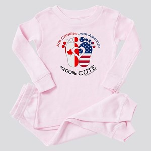 Canadian American Baby Baby Pajamas