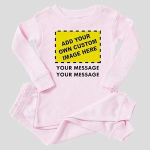 Custom Image & Message Baby Pajamas