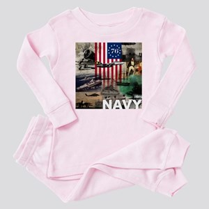 NAVY 1776 Baby Pajamas