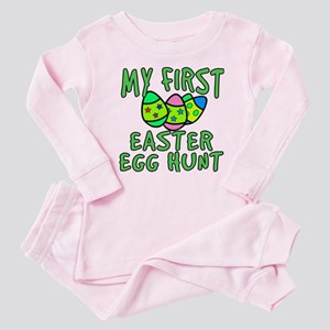 My 1st Easter Egg Hunt Baby Pajamas