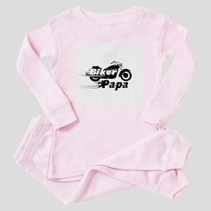 Biker Papa Baby Pajamas