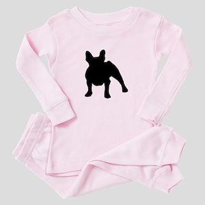 French Bulldog Shadow Baby Pajamas