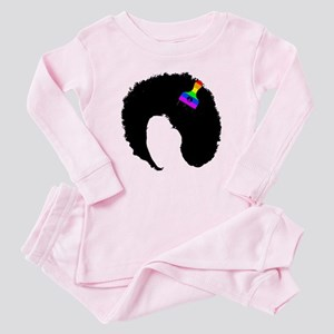 vintage afro american peace sign black a Baby Paja