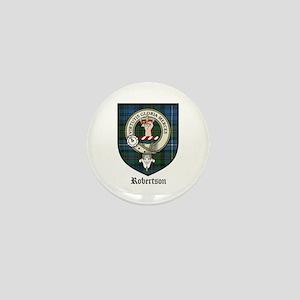 Robertson Clan Crest Tartan Mini Button (10 pack)