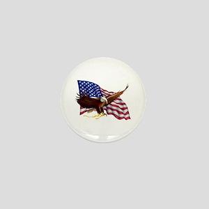 American Patriotism Mini Button (10 pack)