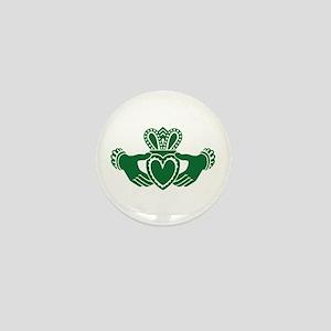 Celtic claddagh Mini Button (10 pack)