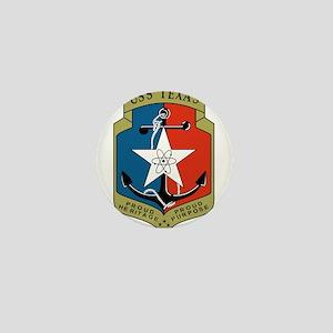 USS Texas (CGN 39) Mini Button (10 pack)