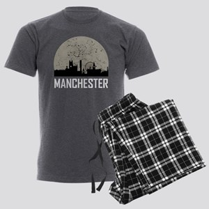 Manchester Full Moon Skyline Pajamas