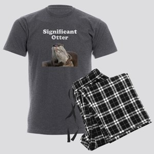 Significant Otter Men's Charcoal Pajamas