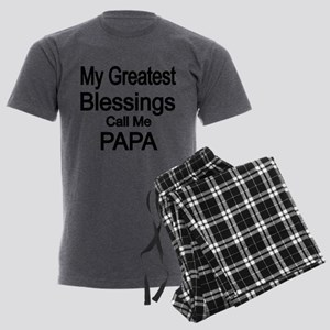 My Greatest Blessings call me PAPA Pajamas