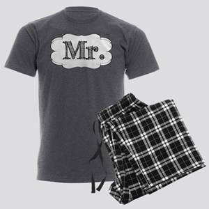 His & Hers Men's Charcoal Pajamas