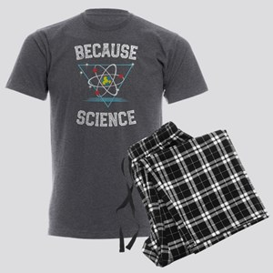Because Science design sci Men's Charcoal Pajamas