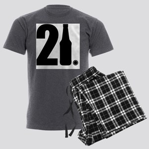 21 beer bottle Men's Light Pajamas