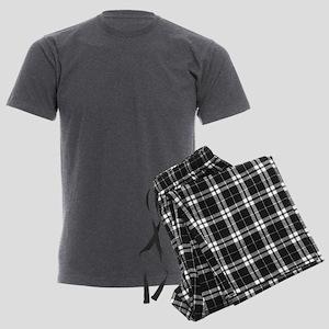 Jolly Santa Nuthouse Men's Charcoal Pajamas