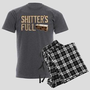Shitter's Full Men's Charcoal Pajamas