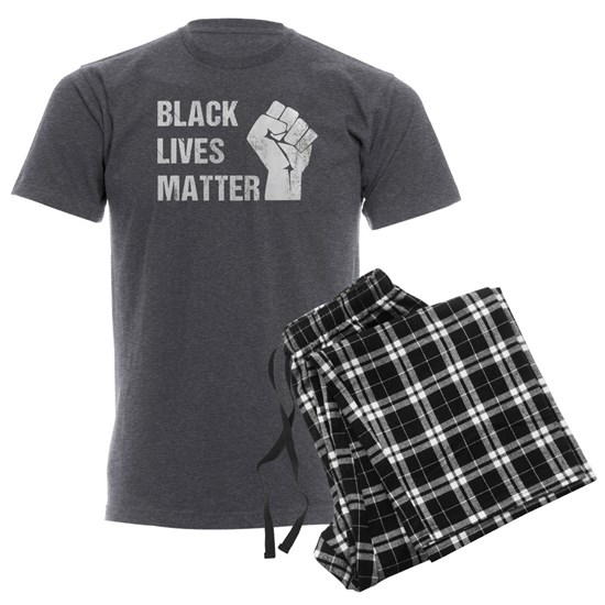 Black Lives Matter - Distressed Look with Fist