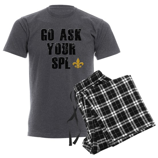 Ask Your SPL - Men's Charcoal Pajamas