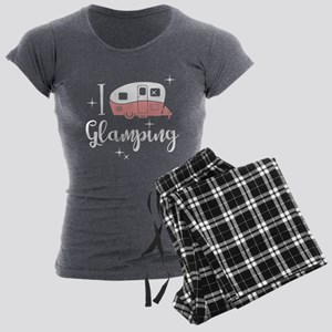 I Love Glamping Women's Charcoal Pajamas