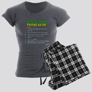 2-thingstodo Pajamas