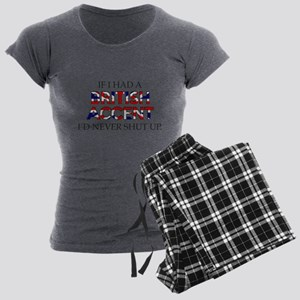 If I Had A British Accent Women's Light Pajamas