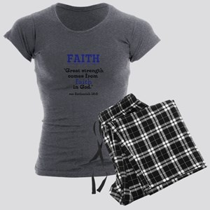 Faith Series-Zechariah 12:5 Pajamas