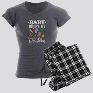 Baby Bumps 1st Christmas Maternity Pajamas