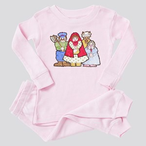 Little Red Riding Hood Toddler Pink Pajamas