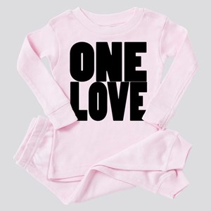 ONE LOVE Toddler Pink Pajamas