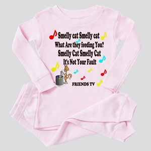 Smelly Cat Song Toddler Pink Pajamas