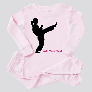 Martial Arts Toddler Pink Pajamas