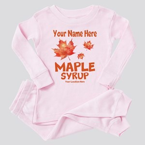 Your Maple Syrup Toddler Pink Pajamas