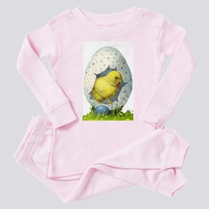 Vintage Easter Chick And Easter Egg Pajamas