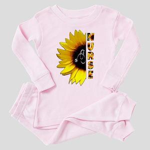 Nurse Sunflower Pajamas