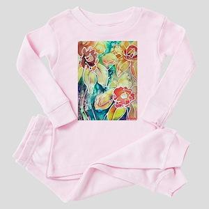 Daffodils! Spring flower art! Toddler Pink Pajamas