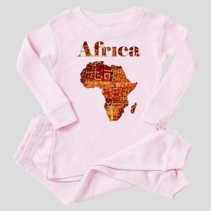 Ethnic Africa Toddler Pink Pajamas