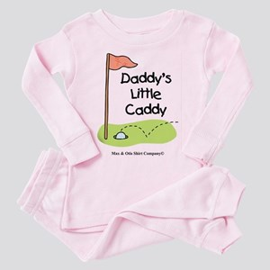 Daddy's Little Caddy Toddler Pink Pajamas
