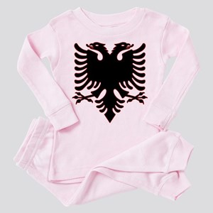 Albanian Eagle Toddler Pink Pajamas