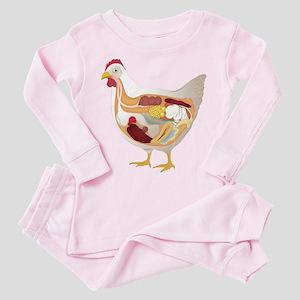 chicken pie guts Pajamas