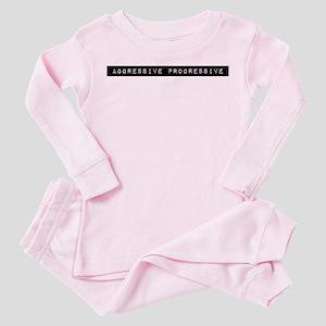 Aggressive Progressive Toddler Pink Pajamas