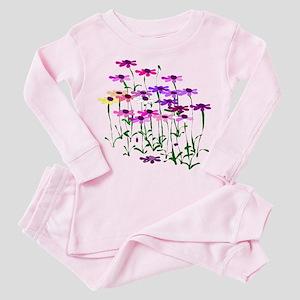 Wildflowers Toddler Pink Pajamas