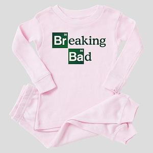 BREAKING BAD LOGO 2 Toddler Pink Pajamas