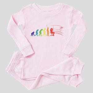 Air Traffic Controller Toddler Pink Pajamas