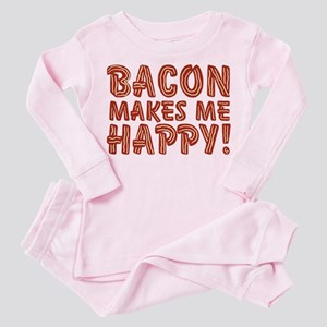 bacon-makes-me-happy_b Toddler Pink Pajamas