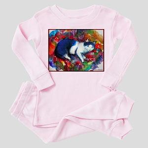 Cat! Colorful, pet, art! Pajamas
