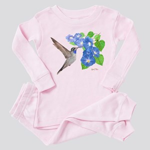 Blue Throated Hummingbird Pajamas