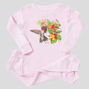Ruby Throated Hummingbird Pajamas