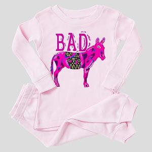 BAD ASS Toddler Pink Pajamas