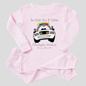 So Cute Its A Crime Toddler Pink Pajamas