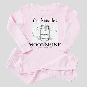 Homemade Moonshine Toddler Pink Pajamas