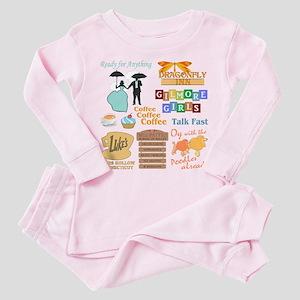 Gilmore Girls Toddler Pink Pajamas